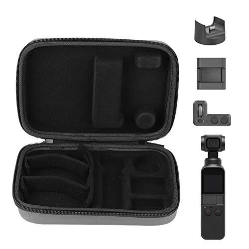 VBESTLIFE Kamera-Aufbewahrungskoffer-Tasche, Mini-Kamera-Zubehörtasche mit 3 magischen Trägern, Partition für OSMO Pocket Pocket-Handheld-PTZ-Kamera