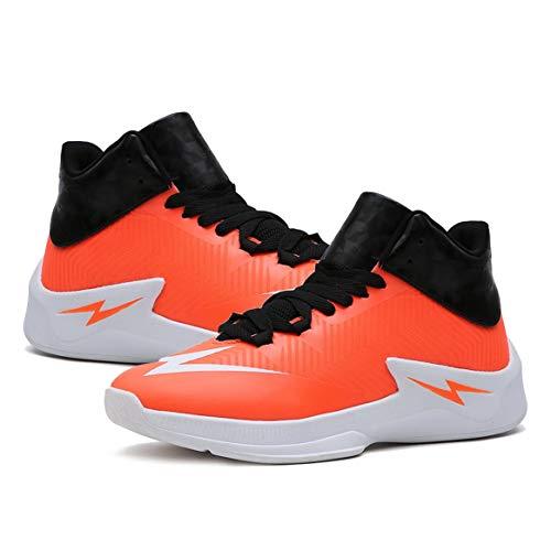 Delicacydex Antichoc Hommes Basketball Chaussures Anti-dérapant Mâle Cheville Bottes en Plein Air Sneakers Résistant À l'usure Casual Chaussures Athlétique Sport Chaussures