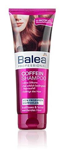 Balea Professional Coffein Shampoo–Mit Biotin & Granatapfel-Extrakt–Silikon Frei, nicht an Tieren getestet, vegan–250ml