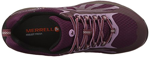 Merrell Damen Siren Edge Waterproof Trekking-& Wanderhalbschuhe Purple (Huckleberry)