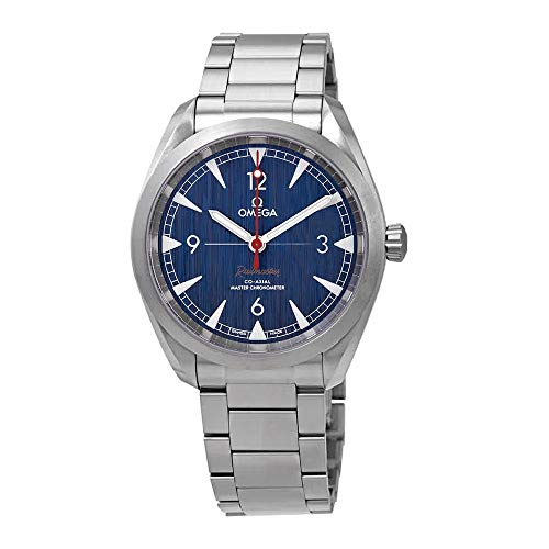 Omega Seamaster Automatic Blue Dial Mens Watch 220.10.40.20.03.001