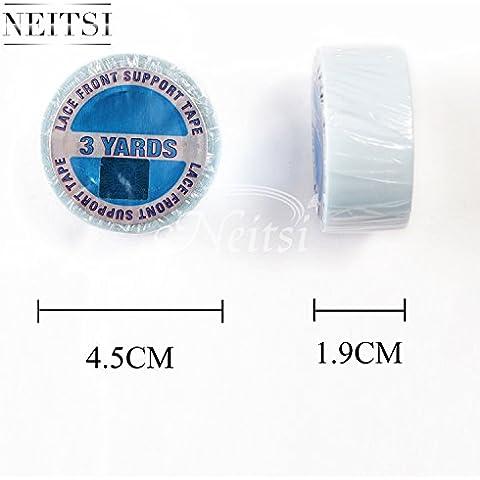 Neitsi ® Double Sided Super-Blue-Rotolo di nastro adesivo 3 m per-in, Extension