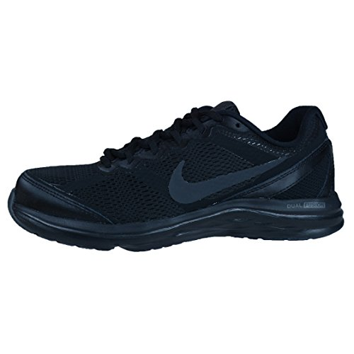 NIKE Dual Fusion Run 2 599564, Scarpe da jogging Donna Black/Black-anthracite