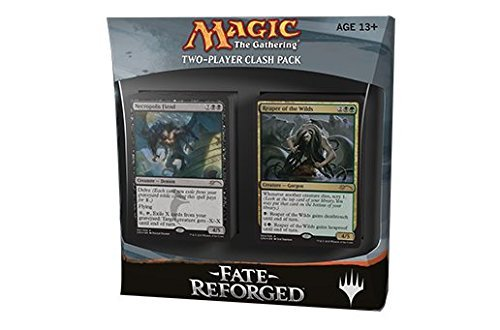 Magic The Gathering Two - Player Clash Pack Fate Reforged Includono 6 Carte Promo con Immagini Alternative