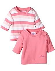 Twins Baby - Mädchen Langarmshirt im 2er Pack