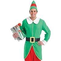 Costume elfo adulto Mens verde Medium (37-40