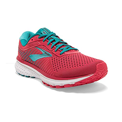 Brooks Ghost 12, Zapatillas de Running para Mujer, Multicolor (Rteaberry/Rumba/Viridian 672), 41 EU