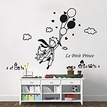 Wall Stickers Wall Decals, Modern The Little Prince And Balloon