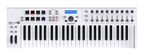 Arturia KeyLab Essential   MIDI Controller Keyboard with Ableton Live Lite, Analog Lab 2 and UVI Grand Piano