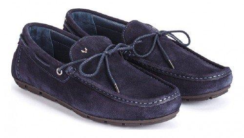 Martinelli, Mocassini uomo blu Blu navy blu Size: 43