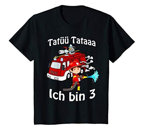 Hat Kostüm Feuerwehrmann - Kinder Feuerwehrmann mit Feuerwehrauto 3 Jahre Geburtstagsgeschenk