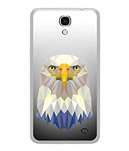 Samsung Galaxy Mega 2 SM-G750H Back Cover Low Poly Poster With Eagle Vector Illustration Design From FUSON