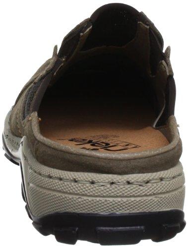 Rieker 08097, Sabot uomo Marrone (Braun (mud/kastanie 26))