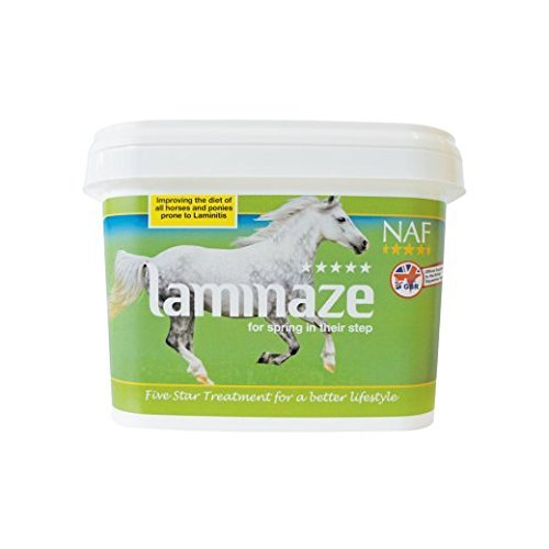 Natural Animal Feeds NAF 5* Laminaze - integratori per cavalli - 1,5 kg