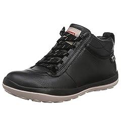 Camper Peu Zapatillas Altas para Mujer Schwarz Black 001 36 EU