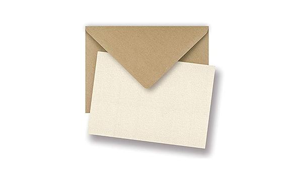 Ivoire Boxed enveloppes A1 A2 A6 A7 pour cartes de vœux invitations réponse Pastel