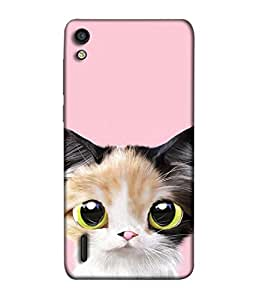 Fuson Designer Back Case Cover for Huawei Ascend P7 (comic character pretty cute animal )