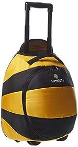 Little Life Animal Wheelie Duffle - Bee Luggage - Yellow