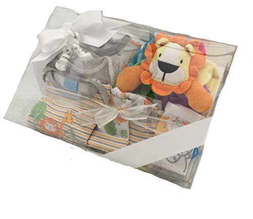 Layette cadeau pour nouveau-né lion