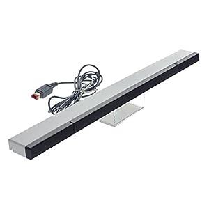 Smartfox Infrarot Sensorleiste Sensor Bar mit Kabel und Ständer für Nintendo Wii und Wii U