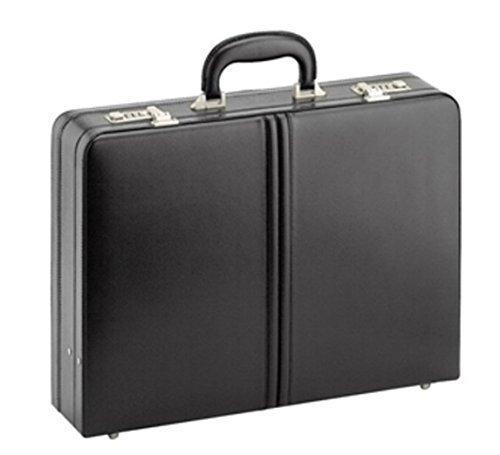 D&n - Tradition Business - Aktenkoffer - Echt Leder - 45x32x11cm + Dehnfalte