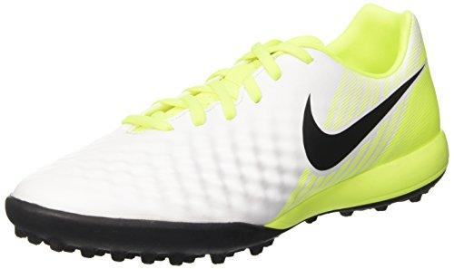 Nike Herren Magistax Onda Ii Tf Fußballschuhe Weiß (White/black-vert Volt-pure Gris Platinum)
