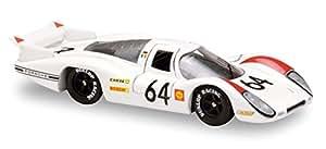 Solido - 143403 - Véhicule Miniature - Modèle À L'échelle - Porsche 908 - Le Mans 1969 - Echelle 1/43