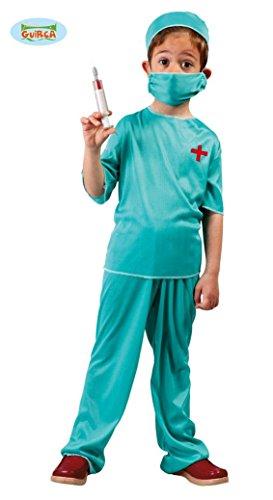 KINDERKOSTÜM - CHIRURG - Größe 122-132 cm ( 7-9 Jahre ), Krankenhaus Berufe Arzt Notarzt Hospital