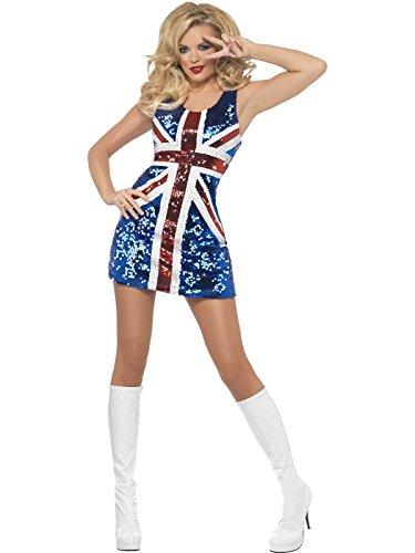 Dress Fancy Spice Kostüm Girls - Fever All that Glitters Rule Britannia Costume Woman Sexy Fancy Dress