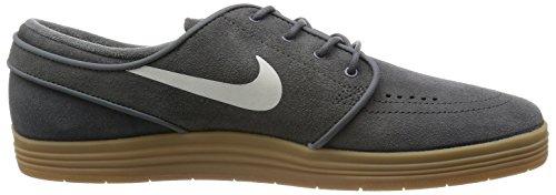 Nike Lunar Stefan Janoski, Chaussures de Skate Homme Marron (River Rock/Sail/Gm Light Brown)