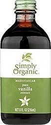 Reiner Vanille-Extrakt, Madagaskar, 8 Flüssigunzen (236 ml) - Simply Organic