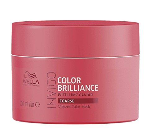 Wella Professionals Invigo Brilliance Vibrant Color Mask Coarse - Für dickes, kräftiges Haar, 150 ml - Antioxidant Conditioner