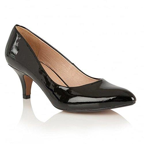 Lotus-Scarpe décolleté da donna CLIO, colore: nero, Nero (nero), 42