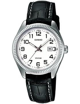 Casio Herren Analog Quarz mit Edelstahl Armbanduhr MTP 1302PSG 7AVEF