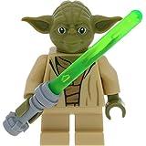 LEGO Star Wars Minifigur Yoda aus Set 75168 incl. 1 GALAXYARMS Schwert