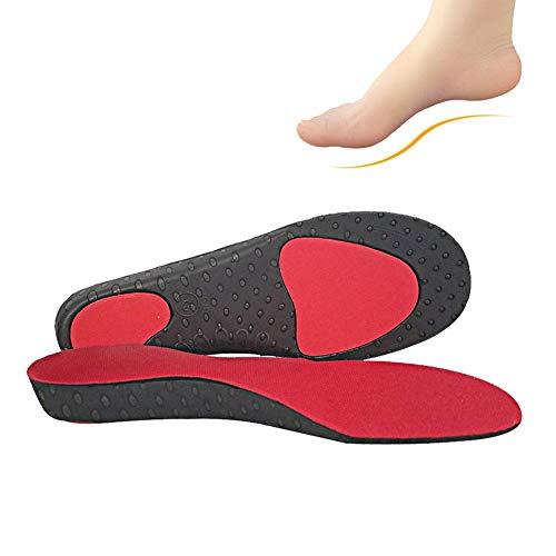 Korrektur Einlegesohlen, Shoe Shock Absorption Einlegesohlen X/O Form Bein Orthesen Arch Support Pad Fit für Walking Lauf und Übungen (M) -