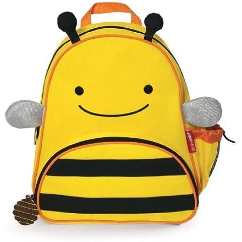 Skip Hop Zoo Paquete Poco Kid Mochila, Bee Color: abeja