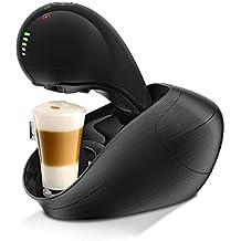 Krups Dolce Gusto KP6008 Nescafe Movenza Kaffeekapselmaschine, automatisch, 15 Bar, schwarz (Zertifiziert und Generalüberholt)