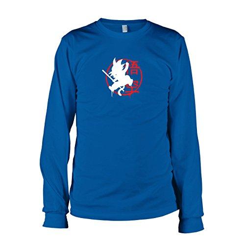 TEXLAB - DBZ: Little Goku - Langarm T-Shirt Marine