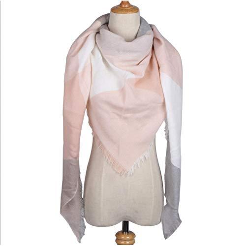HAZVPO Warmer Winter Schal Für Frauen Schals Lady Wrap Schal Bandanas Stirnband 25 Farben Kleidung Kollokation-Color 29