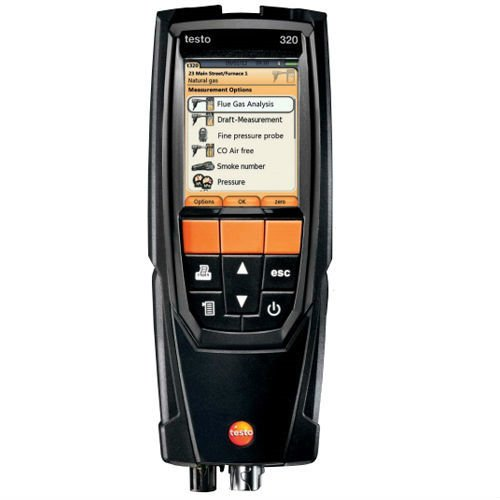 testo 0563 3220 71 Gas Analyzer Set, Flue