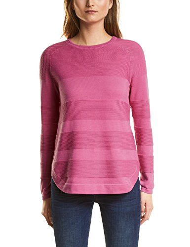 Street One Damen Pullover 300566, Rosa (Flamingo Pink 11272), 36