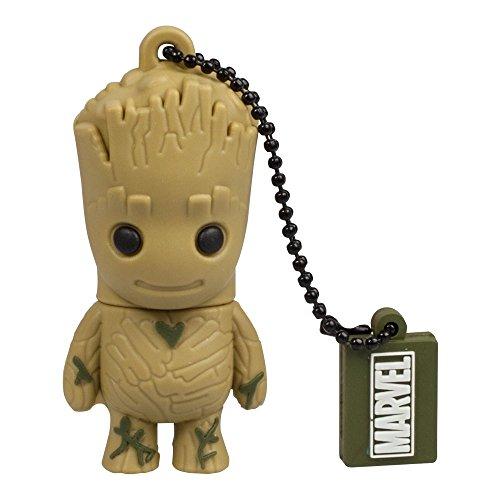 Tribe Marvel Avengers Guardiani della Galassia Groot - Chiavetta USB 2.0 memoria da 32 GB