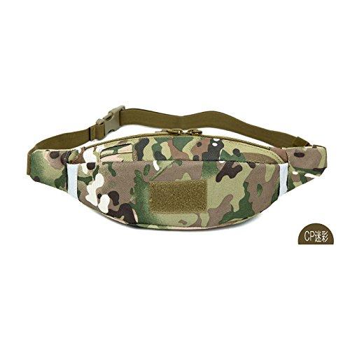 &zhou Kleine Taschen abnehmbar für Verwendung im freien Männer und Frauen kombiniert Geldbörsen Bewegung Schulter Umhängetasche 3