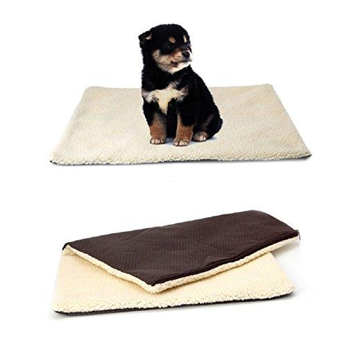 Autone Super Soft selbst Heizung Katze Hundebett Kissen, PET Thermo-Warm Fleece Teppich Matratze