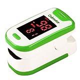 LXZSM Finger-Pulsoximeter-Blutsauerstoff-Sättigungs-Monitor, Impuls-Monitor-Tragbares Sofortiges Gelesenes Digital-Pulsoximeter,Green