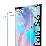 ESR Panzerglas Displayschutzfolie [2 Stück] Kompatibel mit Samsung Galaxy Tab S6 2019/ Tab S5e 10,5 Zoll [Unterstützt Gesichtserkennung] - Displayschutz mit HD Klarheit, hohe Berührungsempfindlichkeit