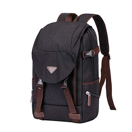 (CHENYANG Vintage Rucksack Casual Unisex Backpack Schulrucksack Laptoptasche Daypack für Herren Damen)