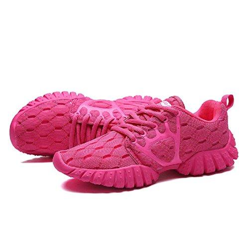 Sportschuhe Das neue Laufschuhe Rutschfest Atmungsaktiv Mode Freizeit Reiseschuhe female pink