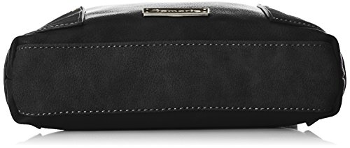 Tamaris - Edna Crossbody Bag S, Borse a tracolla Donna Nero (Black Comb.)